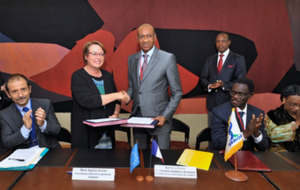 Signature convention Adetef UEMOA